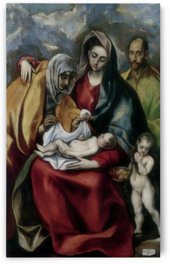 The Holy Family by Andrea Mantegna