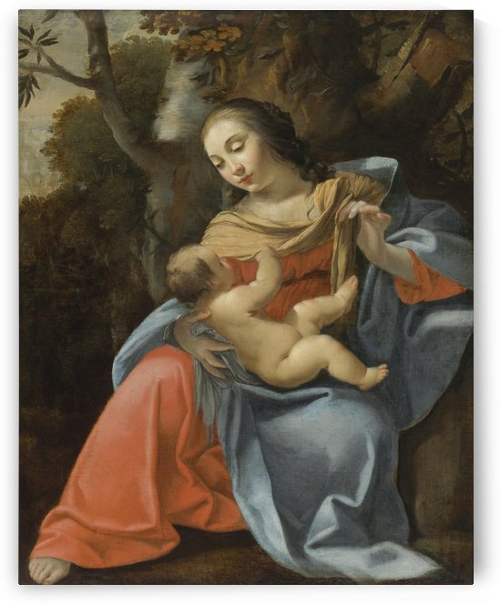 Madonna and Child by Andrea Mantegna