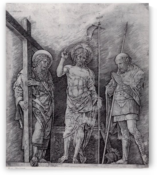 The Resurrection of Christ by Andrea Mantegna