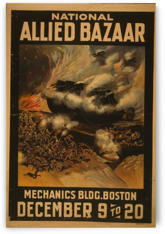 National Allied Bazaar by VINTAGE POSTER