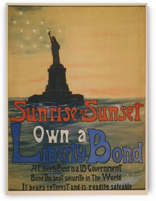 Own a liberty bond by VINTAGE POSTER