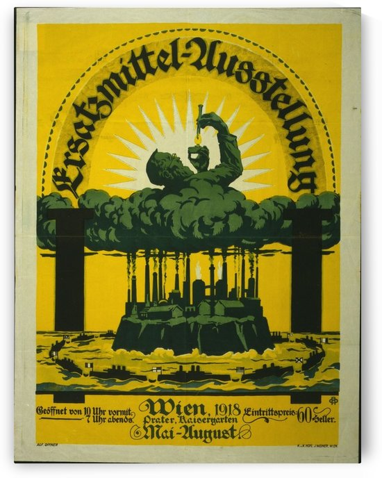 Propaganda poster by VINTAGE POSTER