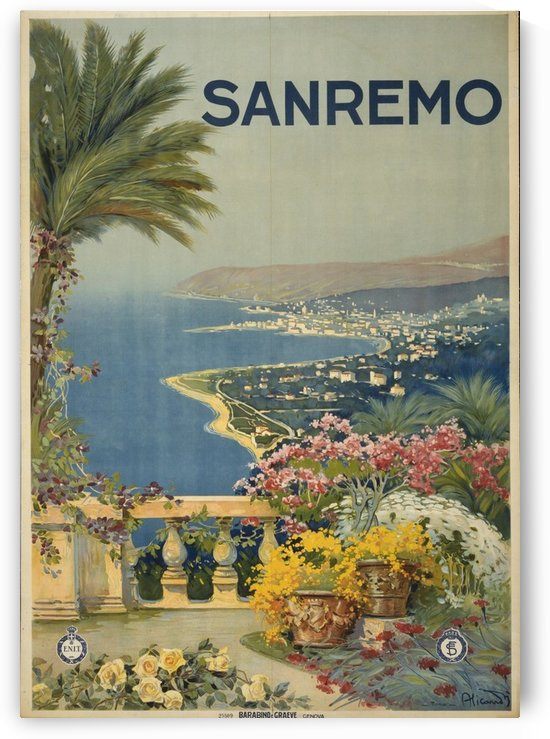 San Remo by VINTAGE POSTER