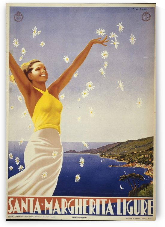Santa Margherita by VINTAGE POSTER