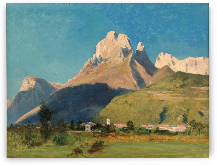 Agordo and Monte Framont, Belluno by Toussaint Gabriel Loppe