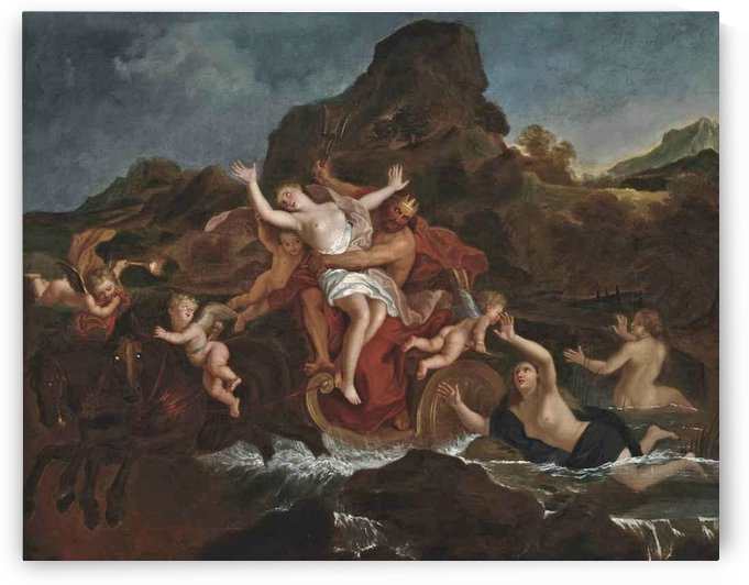 The Rape of Persephone by Charles-Antoine Coypel