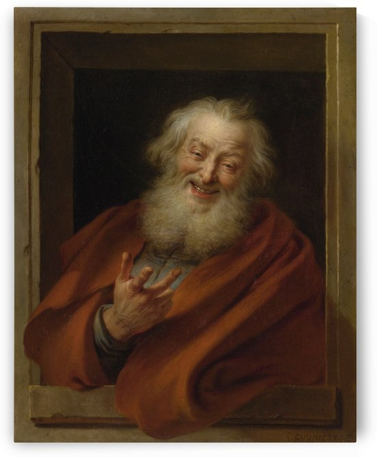 Cheerful Democritus by Charles-Antoine Coypel
