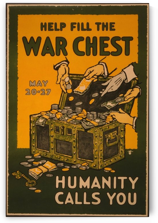 War Chest by VINTAGE POSTER