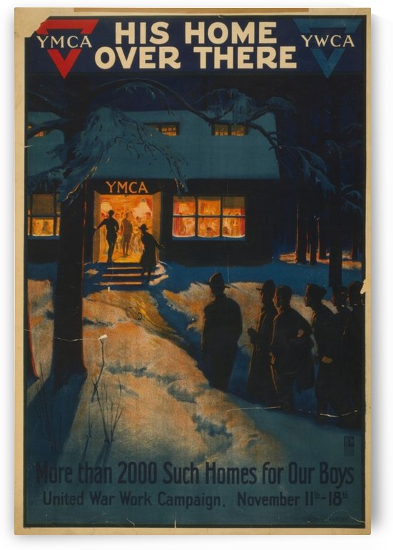 YMCA Home by VINTAGE POSTER