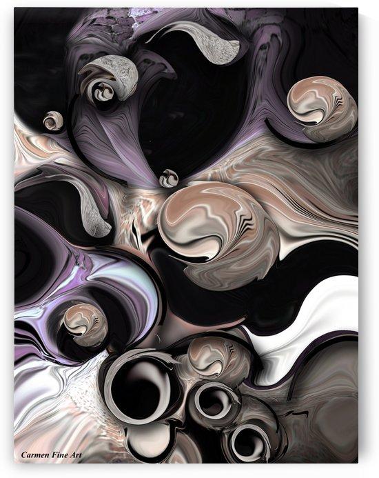 Reality vs Departure by Carmen Fine Art