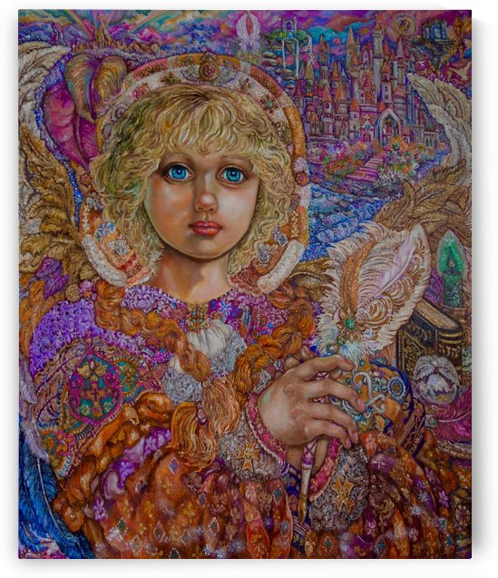 Yumi Sugai. Archangel metatron. by Yumi Sugai