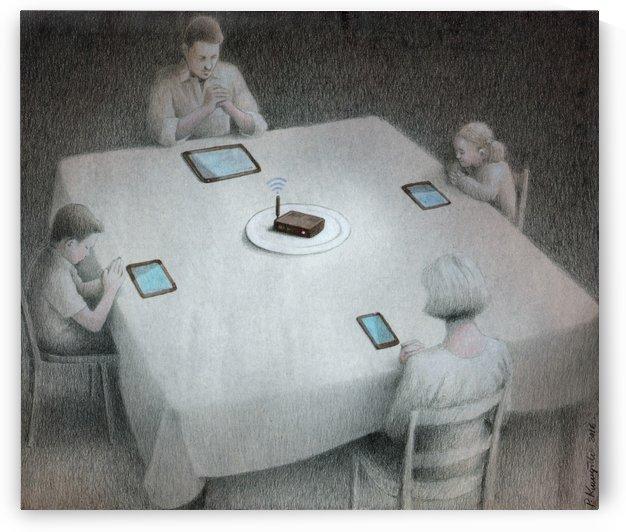 dinner by Pawel Kuczynski