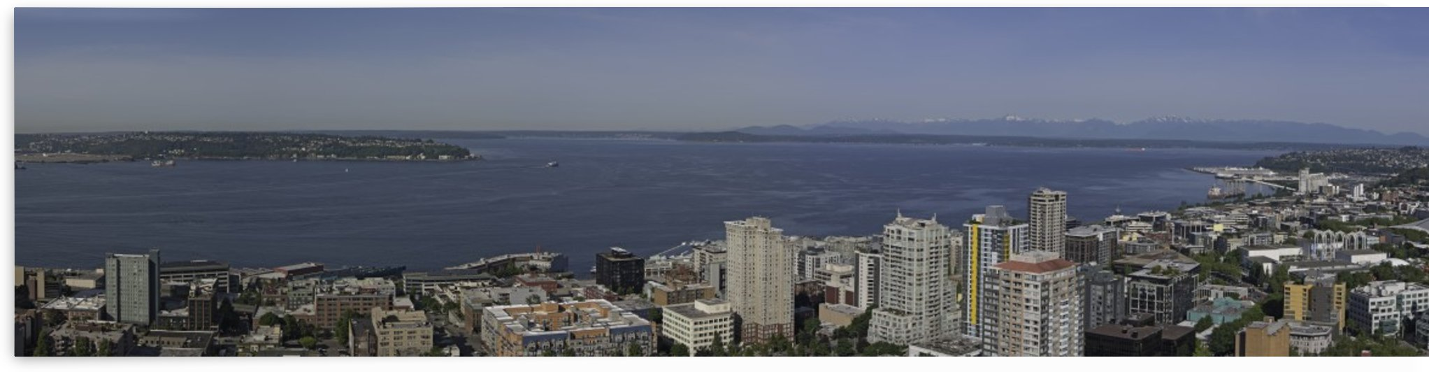 Westward Seattle Panoramic by Steve