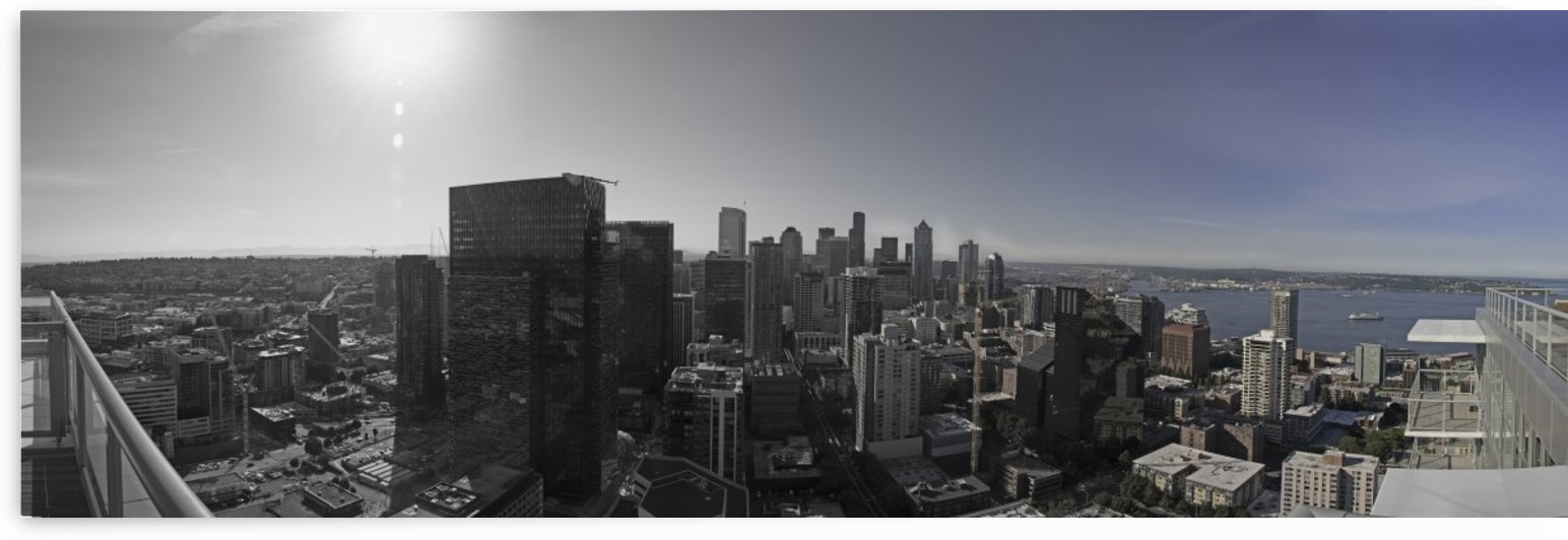 Downtown Gradient by Steve