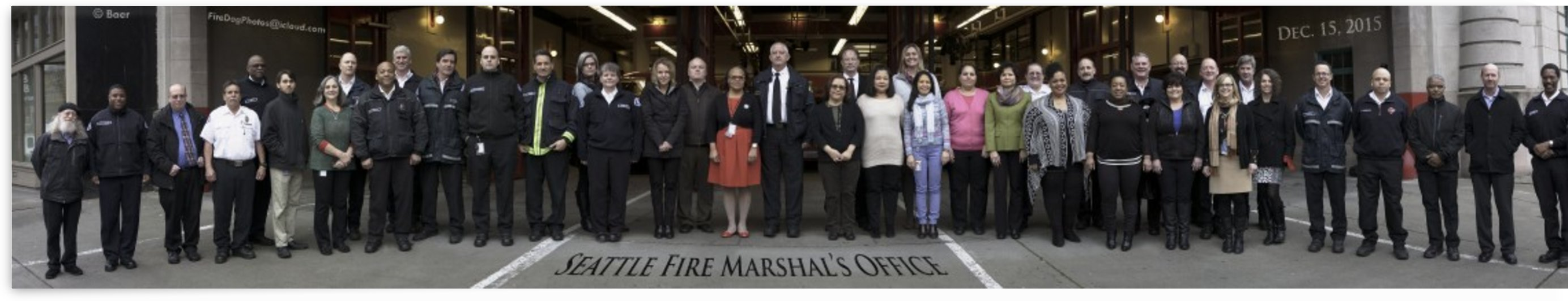Seattle Fire Department Fire Marshal's Office 2015 by Steve