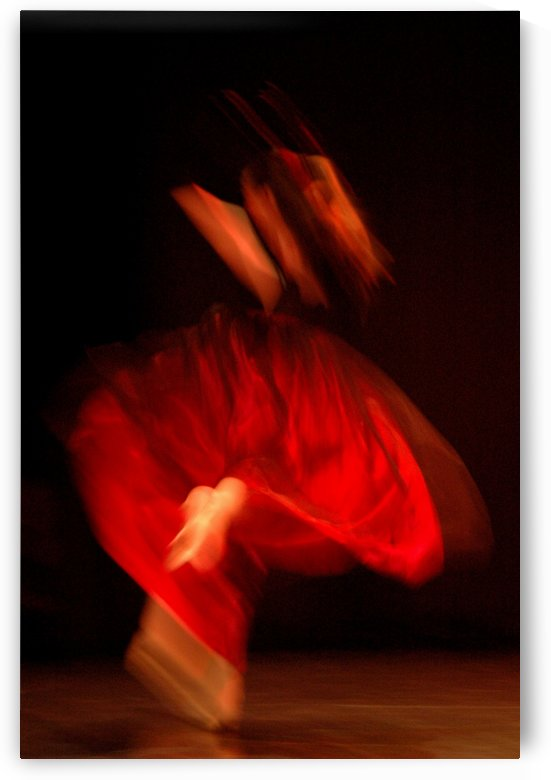 DANCER IN RED by Jean-Jacques MASSOU