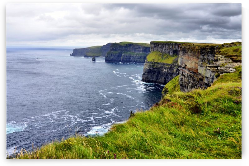 CLIFFS OF MOHER 12 by Jean-Jacques MASSOU
