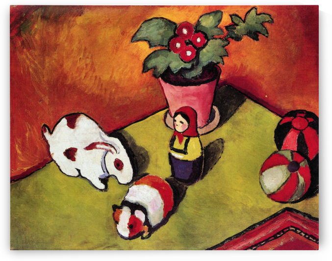 Walter Chen toys by August Macke by August Macke