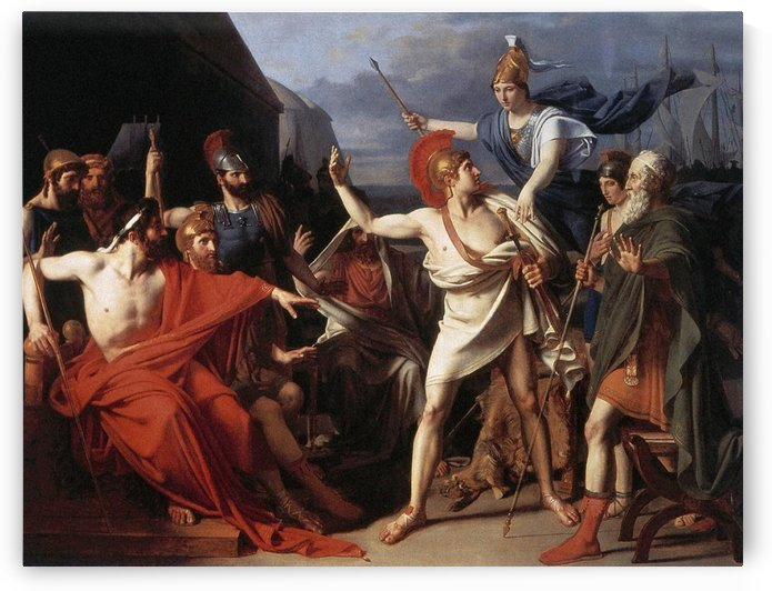 The Wrath of Achilles, 1810 by Michel Martin Drolling