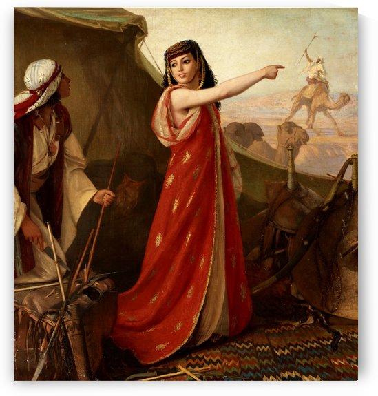 The Arab Princess by Wilhelm Karl Gentz