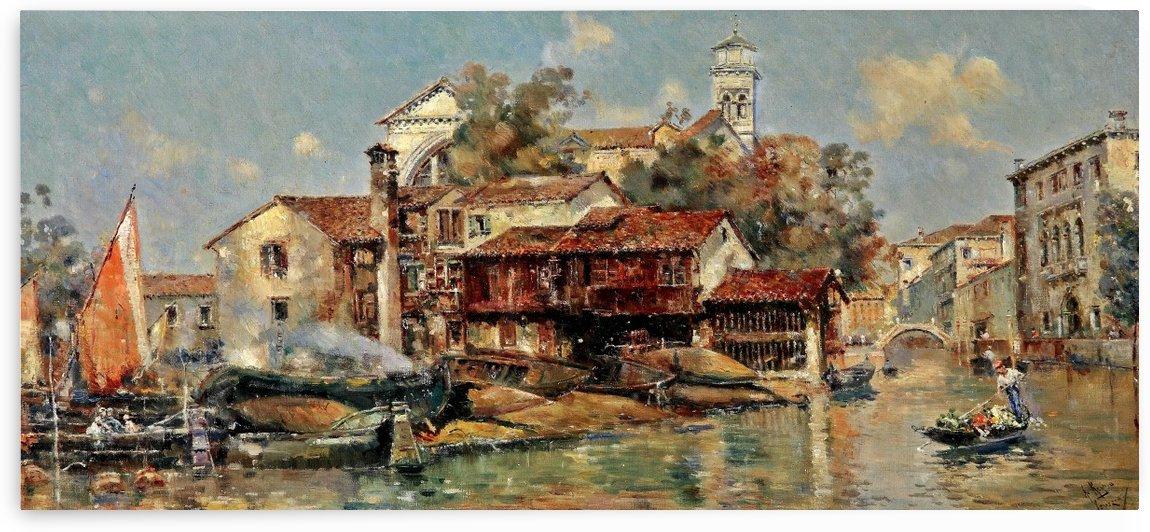 Gondelwerft San Trovasi by Antonio Maria Reyna Manescau