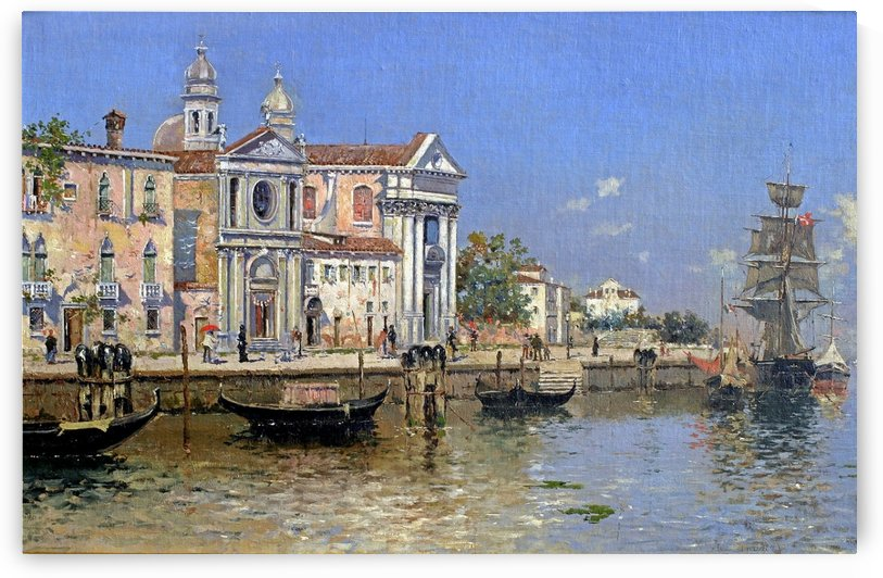 A Memory of Venice by Antonio Maria Reyna Manescau