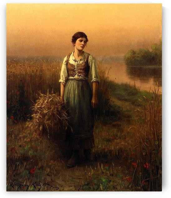 Normandy maid by Daniel Ridgway Knight