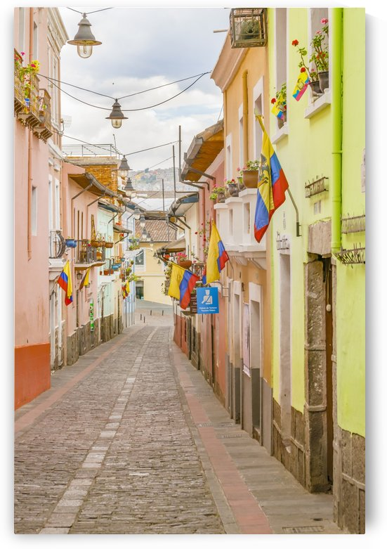 La Ronda Street Quito Ecuador by Daniel Ferreia Leites Ciccarino