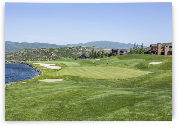 Promontory the Club Golf Course by Andrew Woolstenhulme