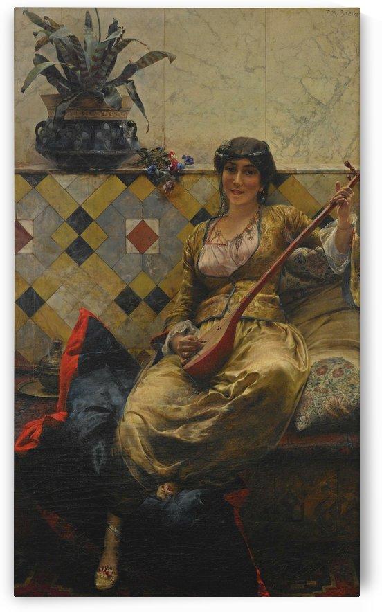 Serenade im Harem by Ferdinand Max Bredt