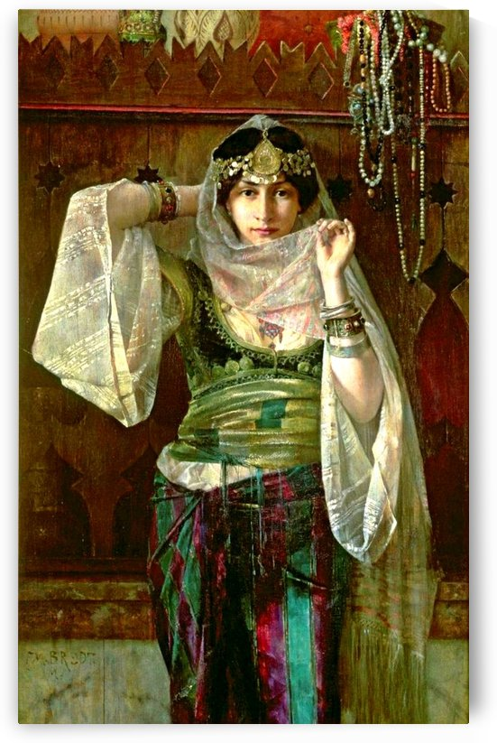 The Queen of the Harem by Ferdinand Max Bredt