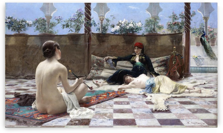 Turkische Frauen by Ferdinand Max Bredt