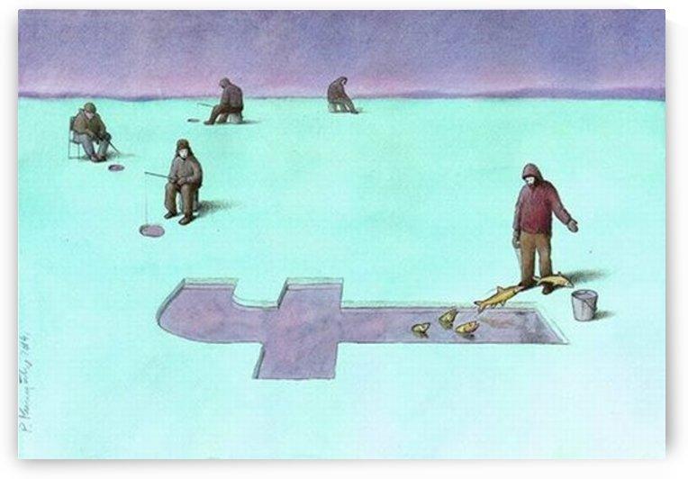 Fishing by Pawel Kuczynski
