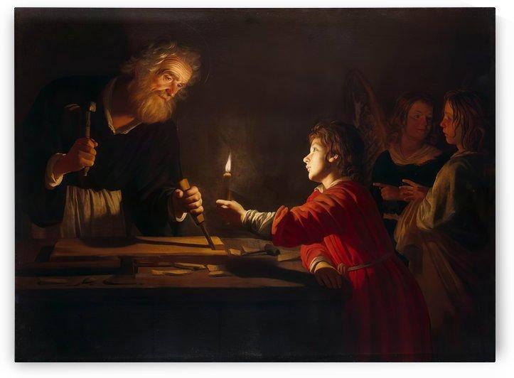 Childhood of Christ by Gerard van Honthorst