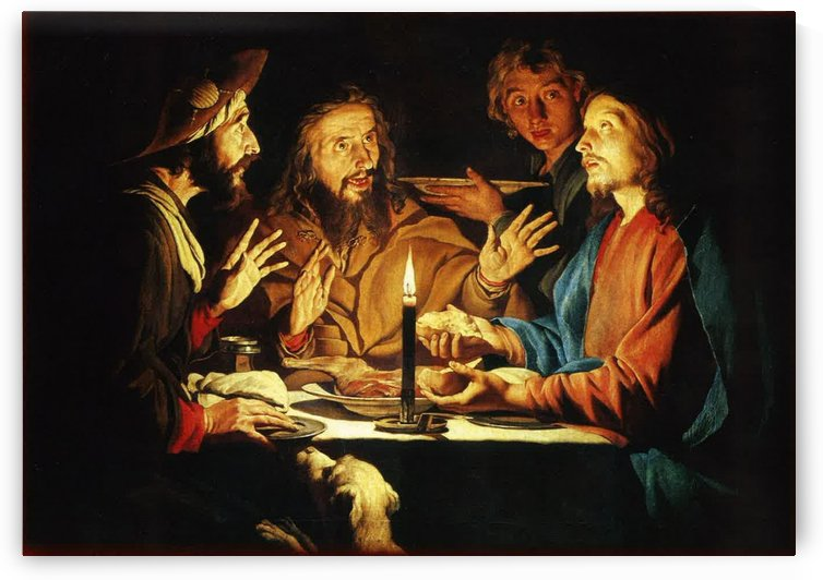 Supper of Emmaus by Gerard van Honthorst