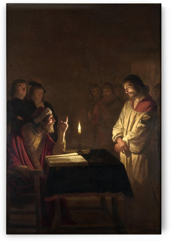 Christ before the High Priest by Gerard van Honthorst