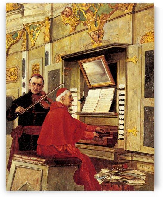 The Duet by Gerard van Honthorst