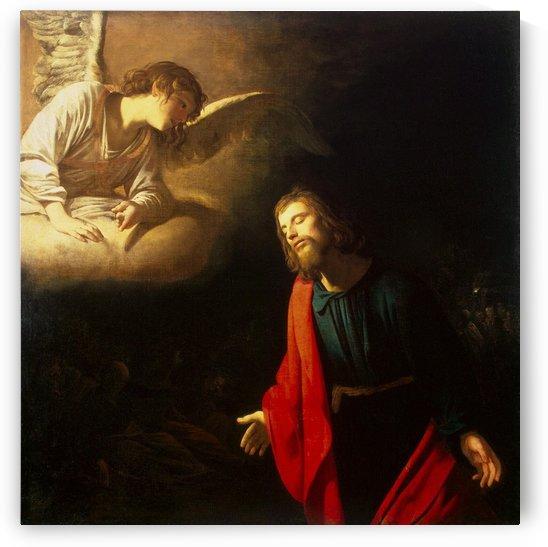Christ in the Garden of Gethsemane by Gerard van Honthorst