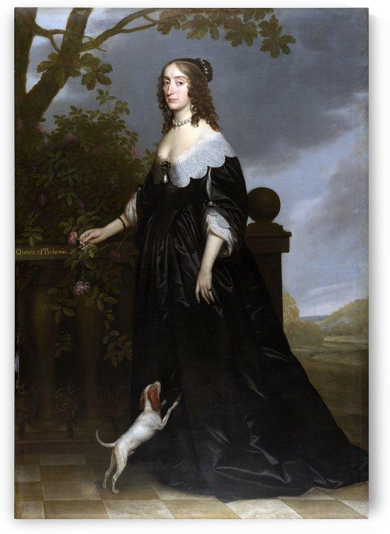 Elizabeth Queen of Bohemia by Gerard van Honthorst