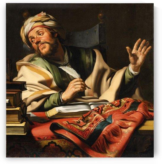 The Steadfast Philosopher by Gerard van Honthorst
