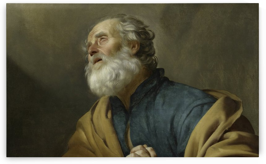 Saint Peter Penitent by Gerard van Honthorst