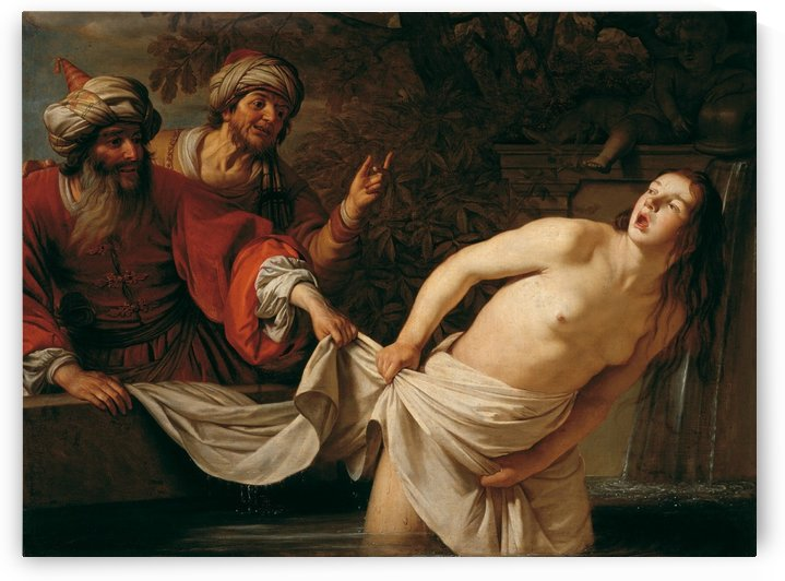Susanna and the Elders, 1655 by Gerard van Honthorst
