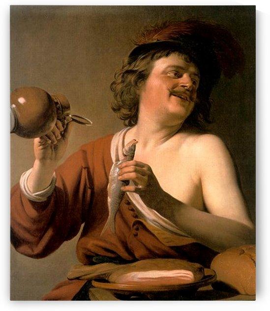 Pickled Herring by Gerard van Honthorst