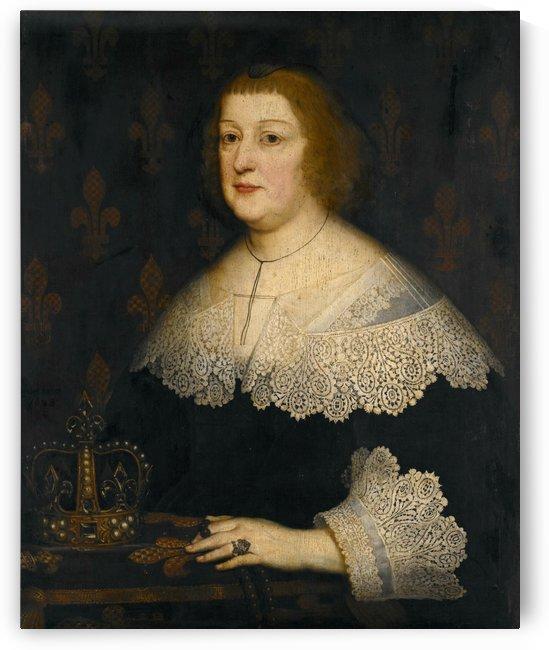 Portrait of Marie de Medici, Queen of France by Gerard van Honthorst