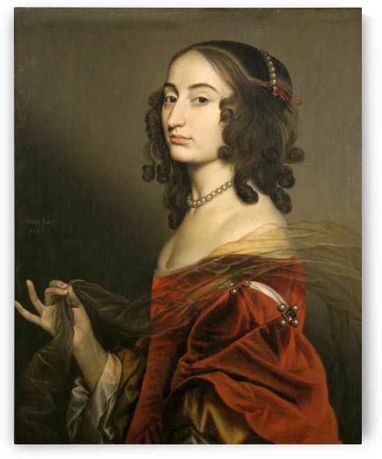 Louise Hollandine, princess Palatine by Gerard van Honthorst