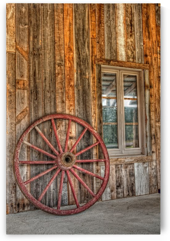 Wagon Wheel by Michel Nadeau