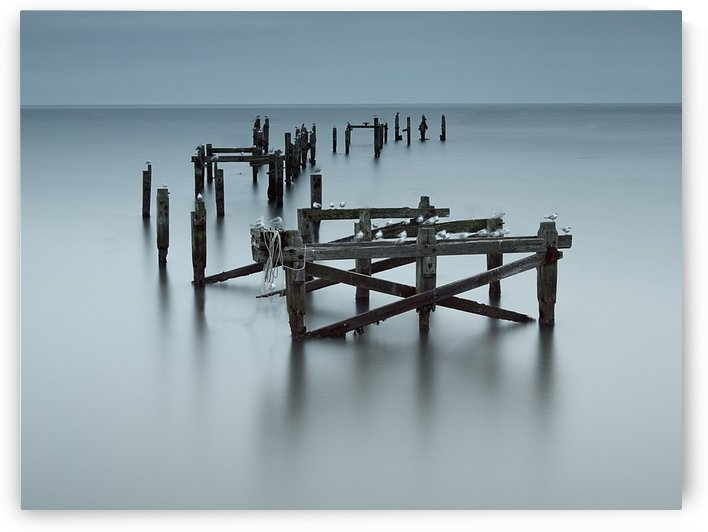 Swanage Old Pier, UK by Keith Truman
