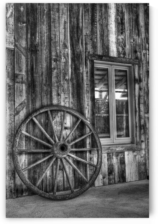 Wagon Weel 2 by Michel Nadeau
