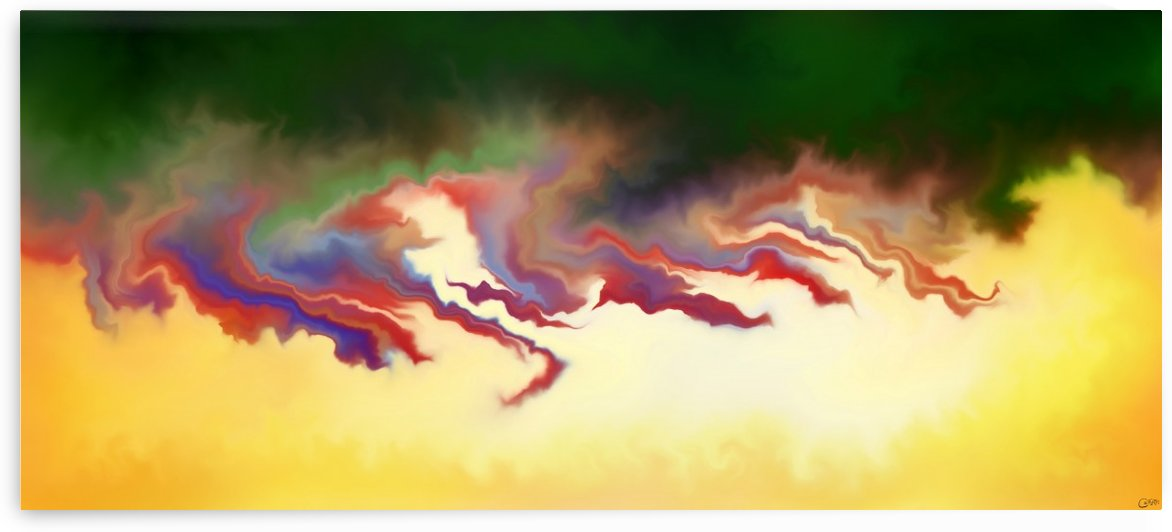 Obadiani V1 - digital abstract by Cersatti Art
