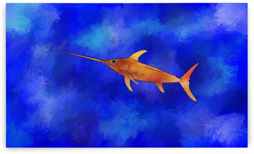 Kessonius V1 - amazing swordfish by Cersatti Art